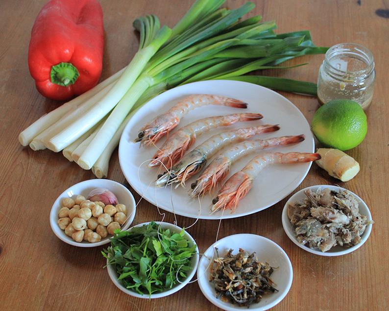 calcot-noodle-prawn